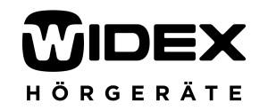Unternehmenslogo Widex Hörgeräte GmbH einfarbig